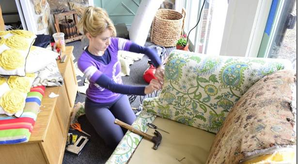 What Does It Cost To Reupholster A Sofa Is It Worth To Reupholster Old Furniture Angie S List ...