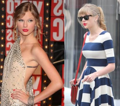 Taylor Swift Breast Implants Before and After